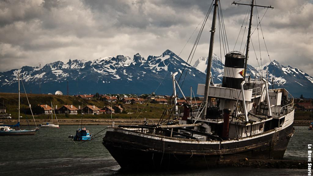La baia di Ushuaia