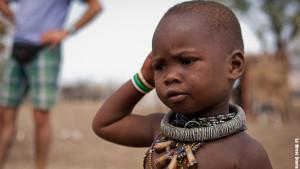 La perplessità di un bambino himba