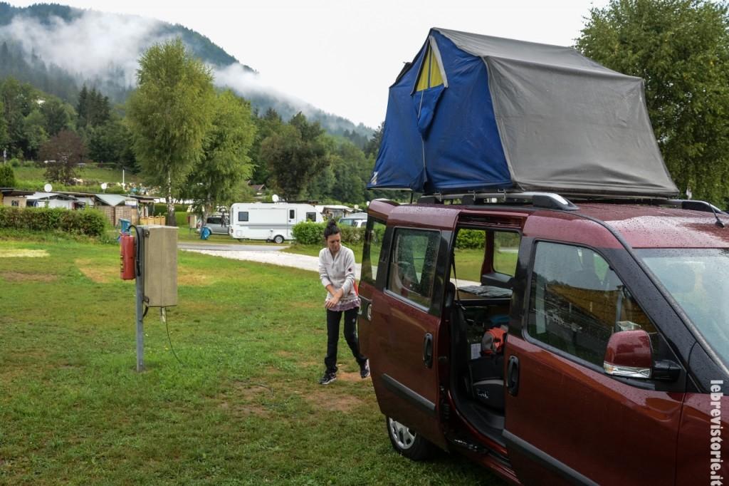 Air camping sul Doblò