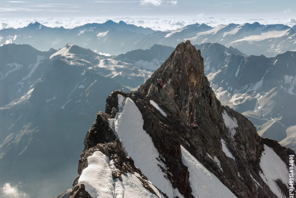 La cresta Hintergrat e il Signalkopf